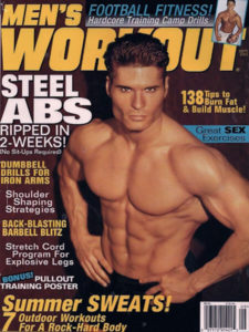 Personal Trainer John Turk of San Diego in Men's Workout Magazine