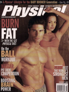 Personal Trainer John Turk of San Diego in Physical Magazine